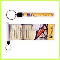 Advertising Banner Key Chain