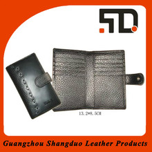 Manufacture Selling Well Super Genuine Leather Travel Wallet