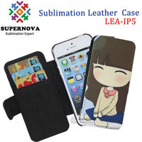 Custom Flip Case for mobile phone case, Sublimation Leather phone Case, Print Case