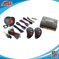 Hot sale on RUSSIA and South American market one way auto security alarm magic car system