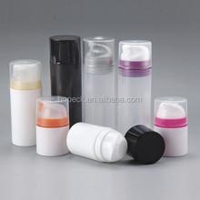 PP airless bottle, snap-on pump 30ml,50ml,75ml,100ml,150ml