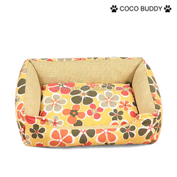 Beautiful convas printing dog couch professional design dog bed