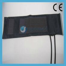 Hemopiezometer Adult Cuff, blood pressure dual tube cuff with mental ring