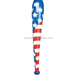 Inflatable U.S. Flag Baseball Bat