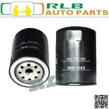 Alta calidad negro toyota hiace 5L del coche piezas del motor del filtro de aceite 15600-41010