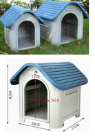 High quality eco-friendly durable plastic material plastic pet house dog house pet cage LPP-403