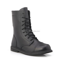 police safety guard men high cut military boots and army shoes//shock resistant water-proof emergency boots