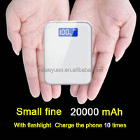 Slim Mini USB PowerBank 20000mAh 18650 Portable Battery Charger Device For Mobile All Smart Phone Laptop Charging Your Phone