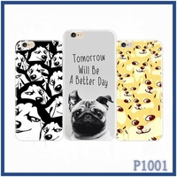 Statement Top selling high quality ultra-thin design cartoon dog printed cell phone case