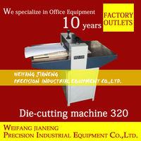 jigsaw puzzle Die Cutting and Creasing Machine MQ320