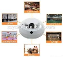 2014 caliente de la venta de humo detector de wifi cámara de vídeo del lazo de visión nocturna para los mercados srbija yz006