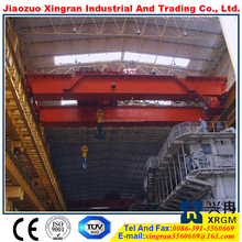 double girder underslung cranmotor driven double beam overhead crane lh model electric hoist overhead crane suspension