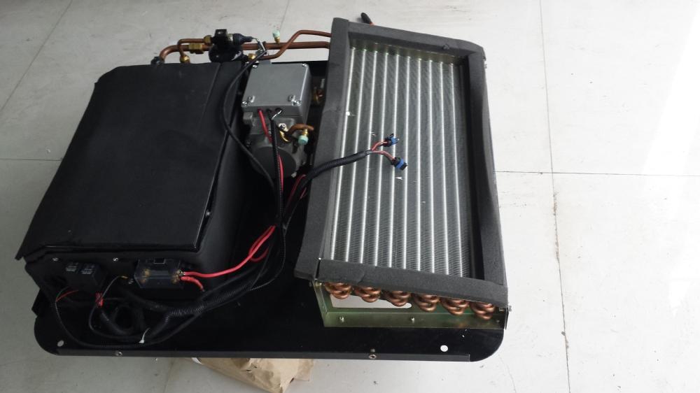 12v 24v dc powered electric caravan air conditioner for for Aire acondicionado autocaravana 12v