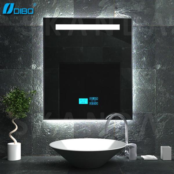 salle de bain intelligente miroir avec mp3  bluetooth  radio