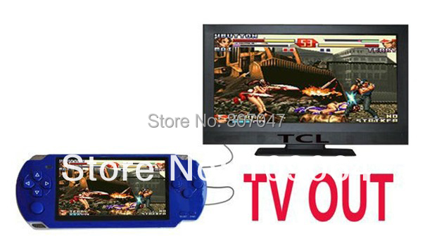 FREE 5000 games .8GB 4.3 Inch PMP Handheld Game Player MP3 MP4 MP5 Player Video FM Camera Portable Game Console