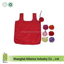 Red Flower Portable Reusable Eco Folding Reusable Shopping Grocery Bag