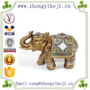 2015 chinese factory custom made handmade carved hot new products resin brass elephant statues