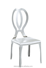 Dining room furniture dinner backrest leather chair Y-637#