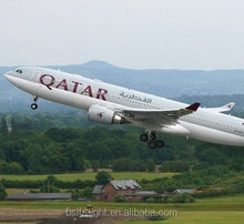 Cheap Air cargo flight from Guangzhou,China to Barcelona,Spain by Qatar Airways/QR
