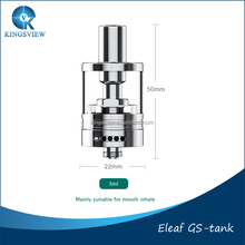Eleaf Newest Temp Control Tank GS TC Tank Best Matches Eleaf TC 40w Stock Shipping Genuine Eleaf