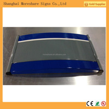 modular aluminium curved wall signage/Door Sign, Nameplate sign, Floor Guide sign