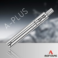 Novelty products for selling Rofvape A Plus 3000mah vapor batteries e cigarette mechanical mod pipe kit