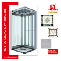 BOLT brand Residential glass home elevator