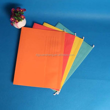 2015 hot sale plastic a4 hanging file folder with printing