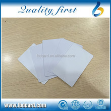 13.56MHz Printable Ntag203 Blank Cards Accept Paypal