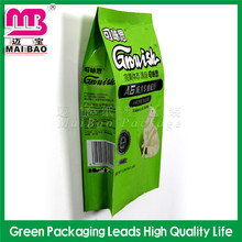 100% virgin material stand up pouch pet food packaging bag
