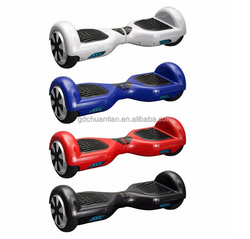 New Arrival mini 7 inch two wheel intelligent electric balance with bluetooth and LED light from Dongguan Chuantian