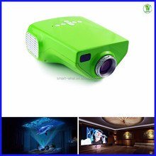 Cheap LCD Projector For Kid Teaching 200:1 Low Ratio 120 Lumens Mini Projector With TV Tuner