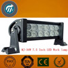 Good Waterproof 10-30V IP65 double 30W 7.5 Inch row LED off road vehicle light bar 4x4 lamps