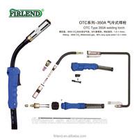 Mig OTC 350A welding gun for welding machine supply