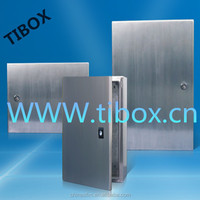 IP66/IK10/Hot selling/TIBOX CHINA/Stainless steel case with single blank door