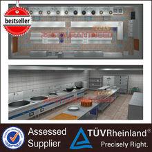 Restaurant Professional Kitchen Design & Kitchen Project