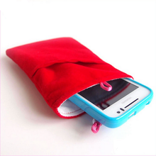 High Quality Microfiber Pouch for IPone Ipad Mobile phone