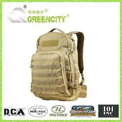 2015 waterproof velcro military backpack for sale