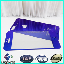 Electroplating Mirror Effect screen protector glass , coloured tempered glass screen protector for mobile phone