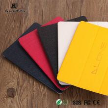 OEM Fashion Design Ultra Thin Colorful Protective PU Leather Flip Stand Case for iPad Mini 2
