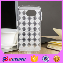 PC slilicone case for samsung galaxy s6 edge. for samsung galaxy s6 edge mobile cover printer