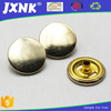 Nickel free round push snap button for clothing buttons