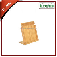 2014 Wholesale kitchen ware bamboo knife rack
