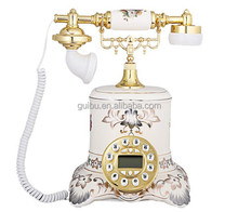 Antique Telephone with Lightning Protection Device for Young People with Purple GBD-6025A