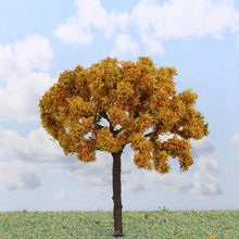 scale model tree sand table model material background building model wire iron tree(s-i24)