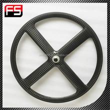 Professinal Wholesale carbon 4 spoke wheel, High quality carbon cycling bike 4 spoke wheel