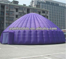 2012 popular design inflatable dome event tent