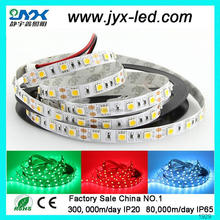 2012 popular decoration 300leds/roll smd RGB flexible 5050 led strip