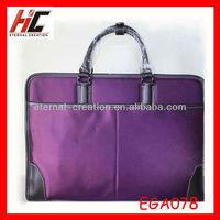 artist purple bag briefcase