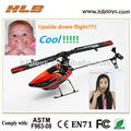Venta caliente, WL juega V922 6CH 3D RC Helicopter, hoja simple R / C helcopter